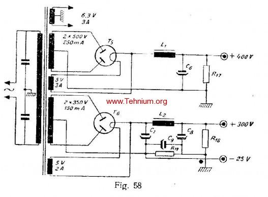 ta - Un amplificator de 40 wati - Figure 58